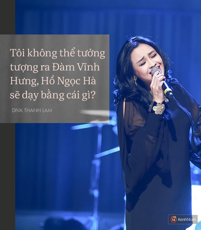 8 phát ngôn trong âm nhạc thẳng như ruột ngựa, chẳng ngại đụng chạm của Diva Thanh Lam - Ảnh 4.