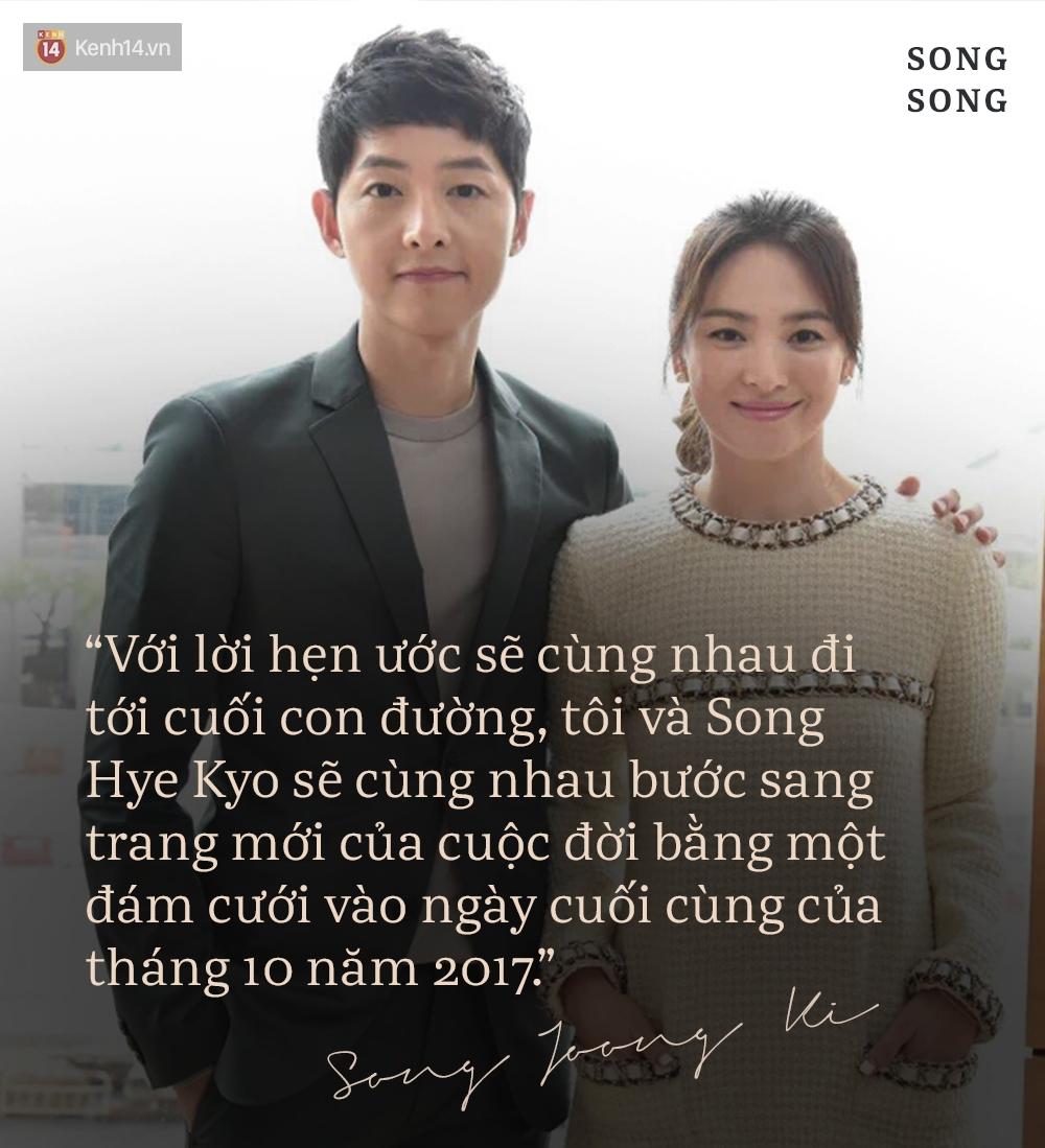 Xem cách Song Joong Ki và Song Hye Kyo tỏ tình mới thấy: Một khi đã yêu, mọi lời nói đều có thể ngôn tình hóa - Ảnh 2.
