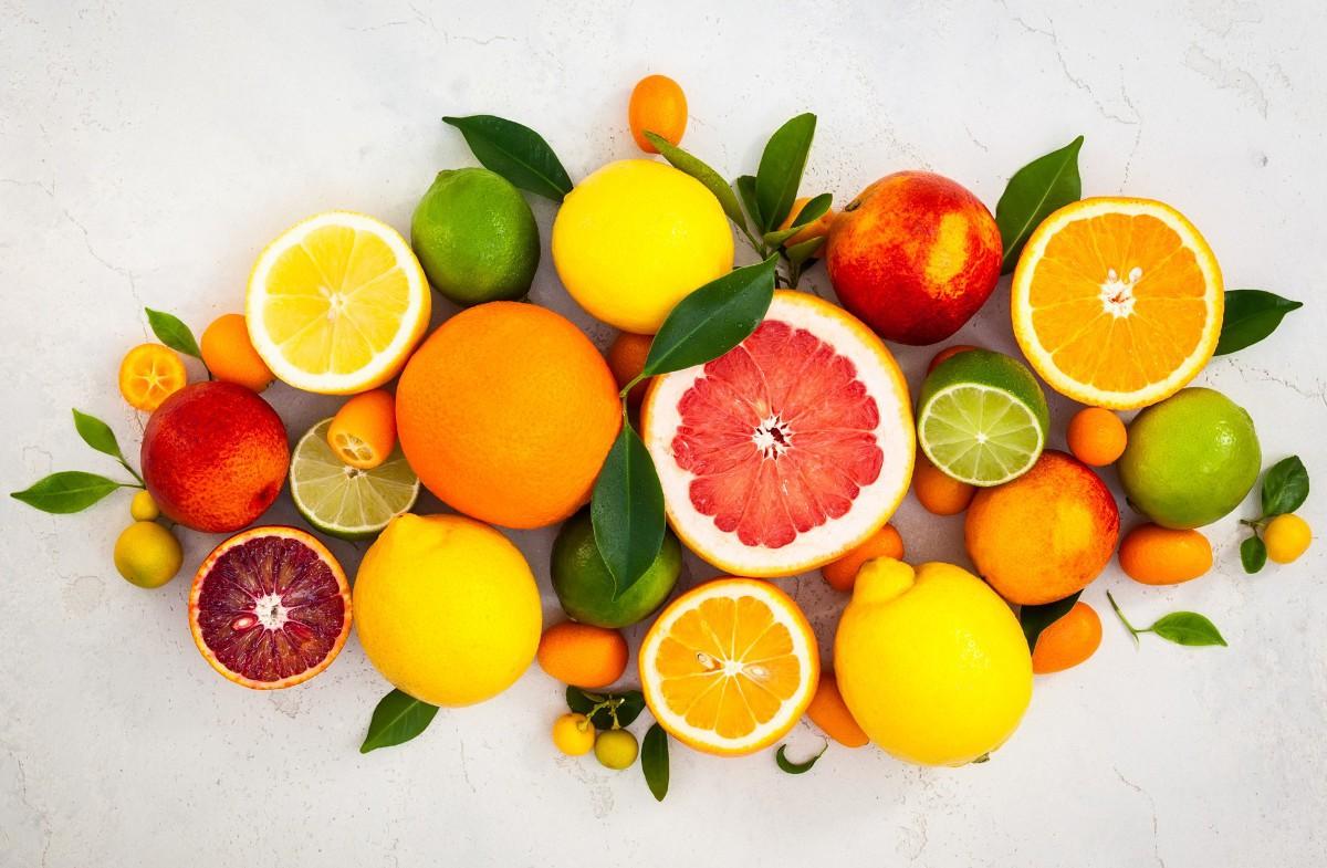 nhóm trái cây nhà cam, chanh, quýt