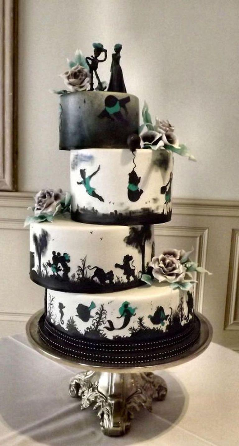15 mẫu bánh cưới cảm hứng từ phim hoạt hình Disney - Ảnh 1.
