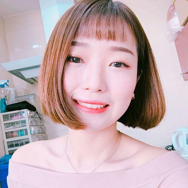 Phim đã hết nhưng con gái Hàn vẫn đổ xô cắt tóc ngắn cũn, tô son giống tiên nữ cử tạ Kim Bok Joo - Ảnh 7.
