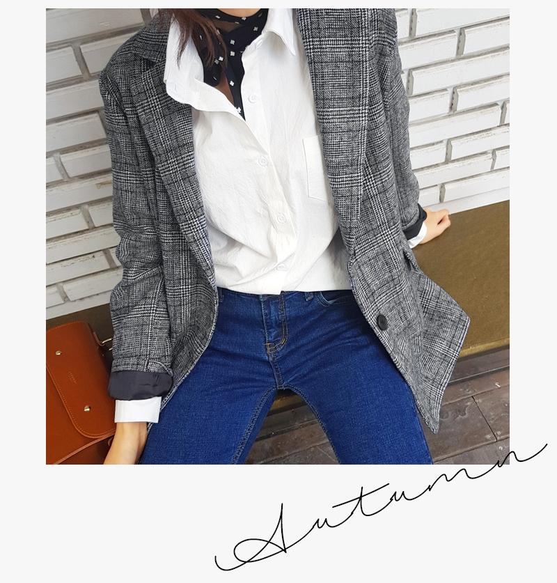 Blazer kẻ caro: Dự là sẽ hot hơn cả cardigan, denim jacket vì fashionista nào cũng đang sở hữu 1 cái - Ảnh 9.