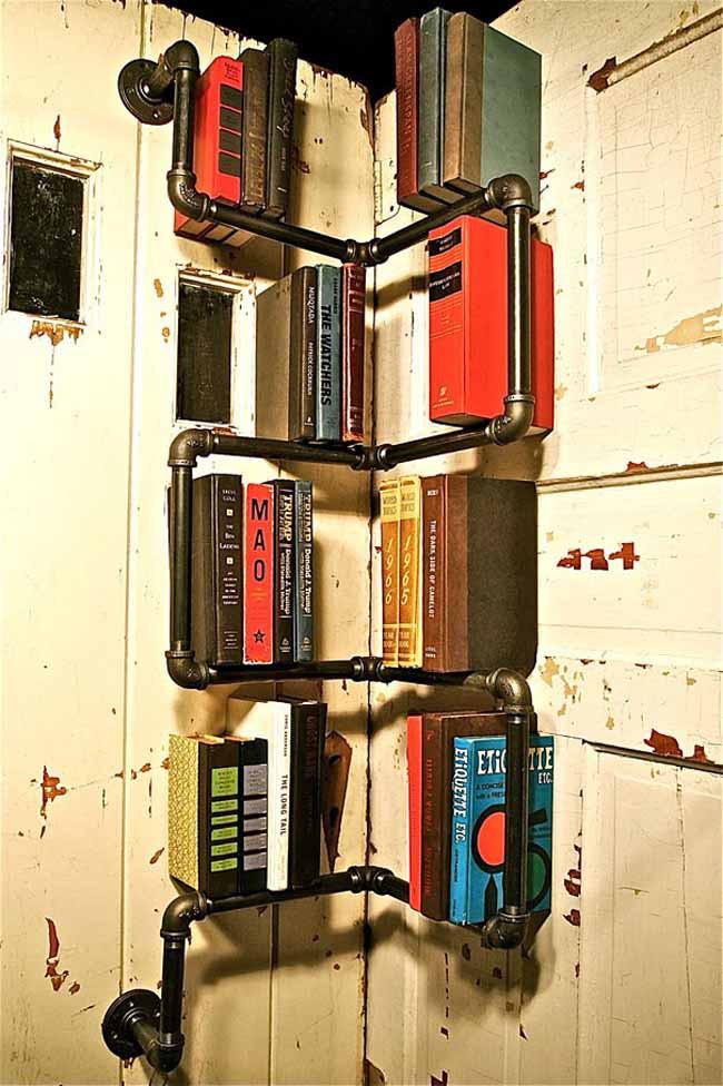 20 mẫu giá sách đẹp xuất sắc dù là người không thích đọc sách cũng muốn có trong nhà - Ảnh 17.