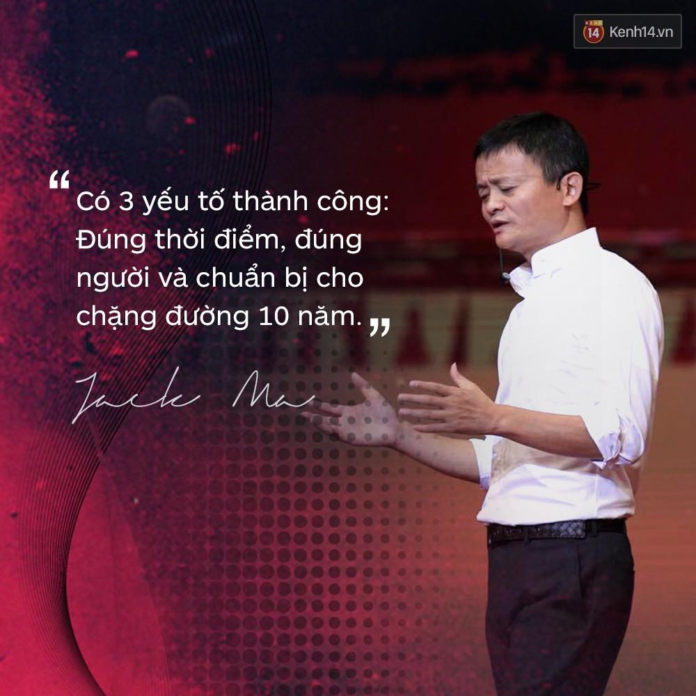 Loạt phát ngôn đầy cảm hứng tỷ phú Jack Ma vừa gửi đến các bạn trẻ Việt Nam - Ảnh 9.