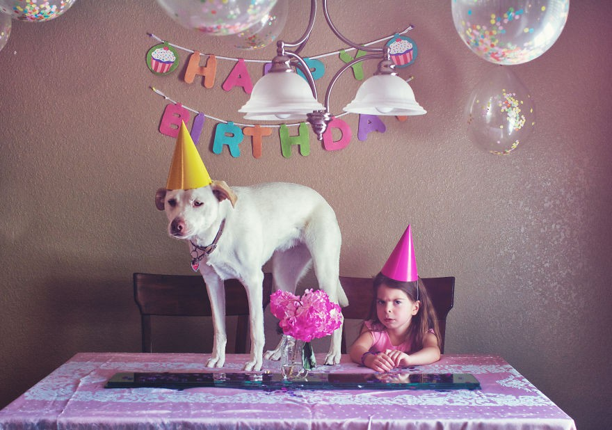 Nhũn tim trước hình ảnh thắm thiết quấn quýt bên nhau của cô chủ nhỏ và chú chó - Ảnh 9.