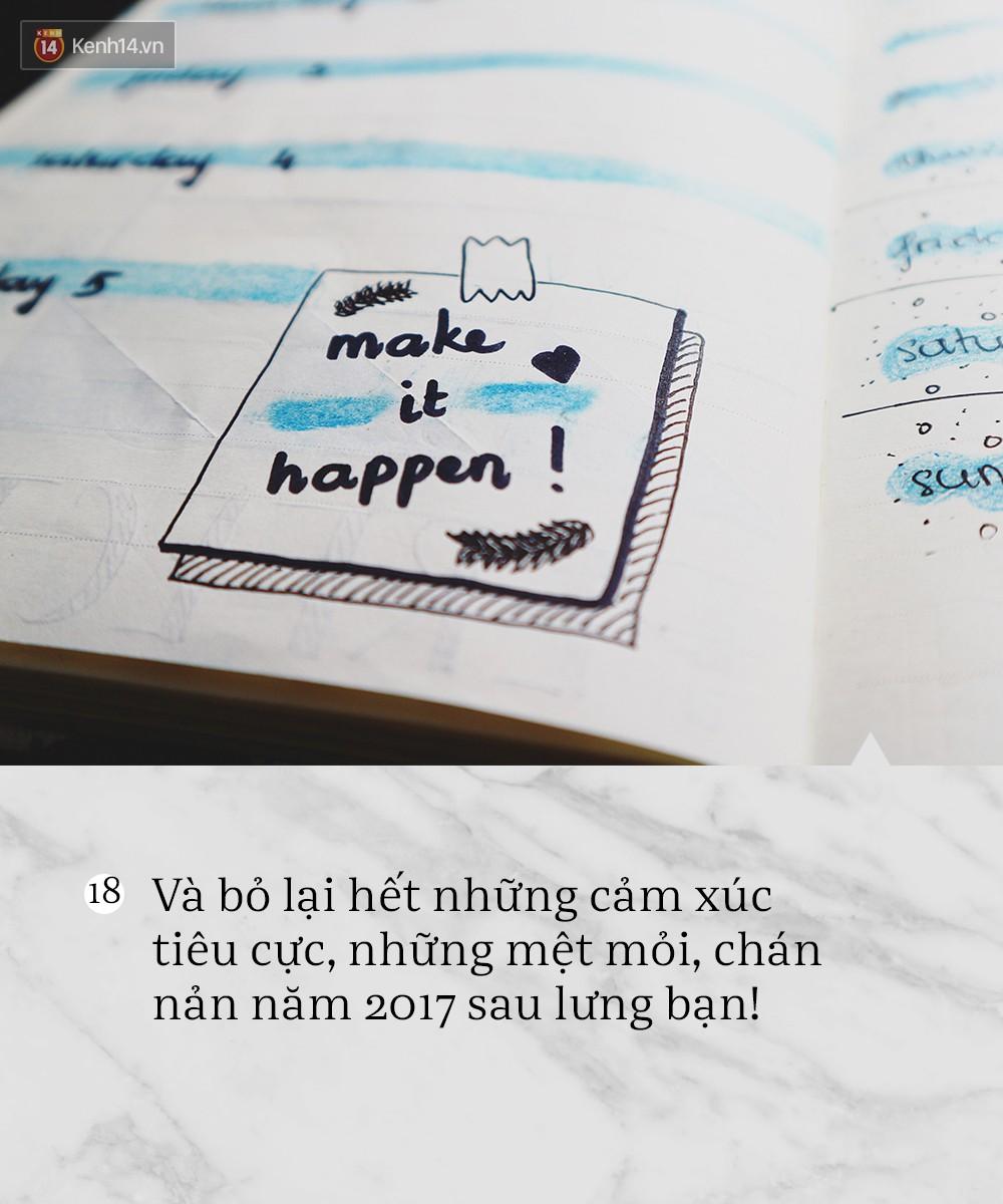 18 điều cần thay đổi ngay để có một năm 2018 tuyệt vời! - Ảnh 17.