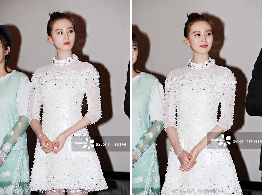 Cắt tóc tomboy siêu ngắn nhưng Lưu Thi Thi vẫn đẹp tựa nữ thần nhờ chọn được style phù hợp - Ảnh 10.