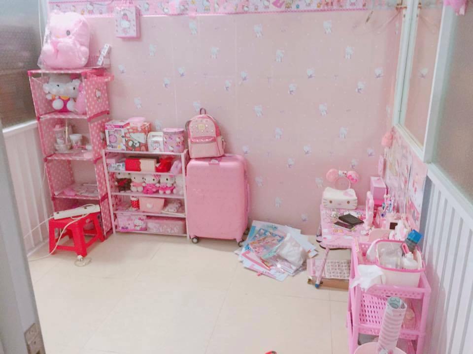 Chuyện tình chỉ có màu hồng theo nghĩa đen của cô nàng cuồng Hello Kitty - Ảnh 4.