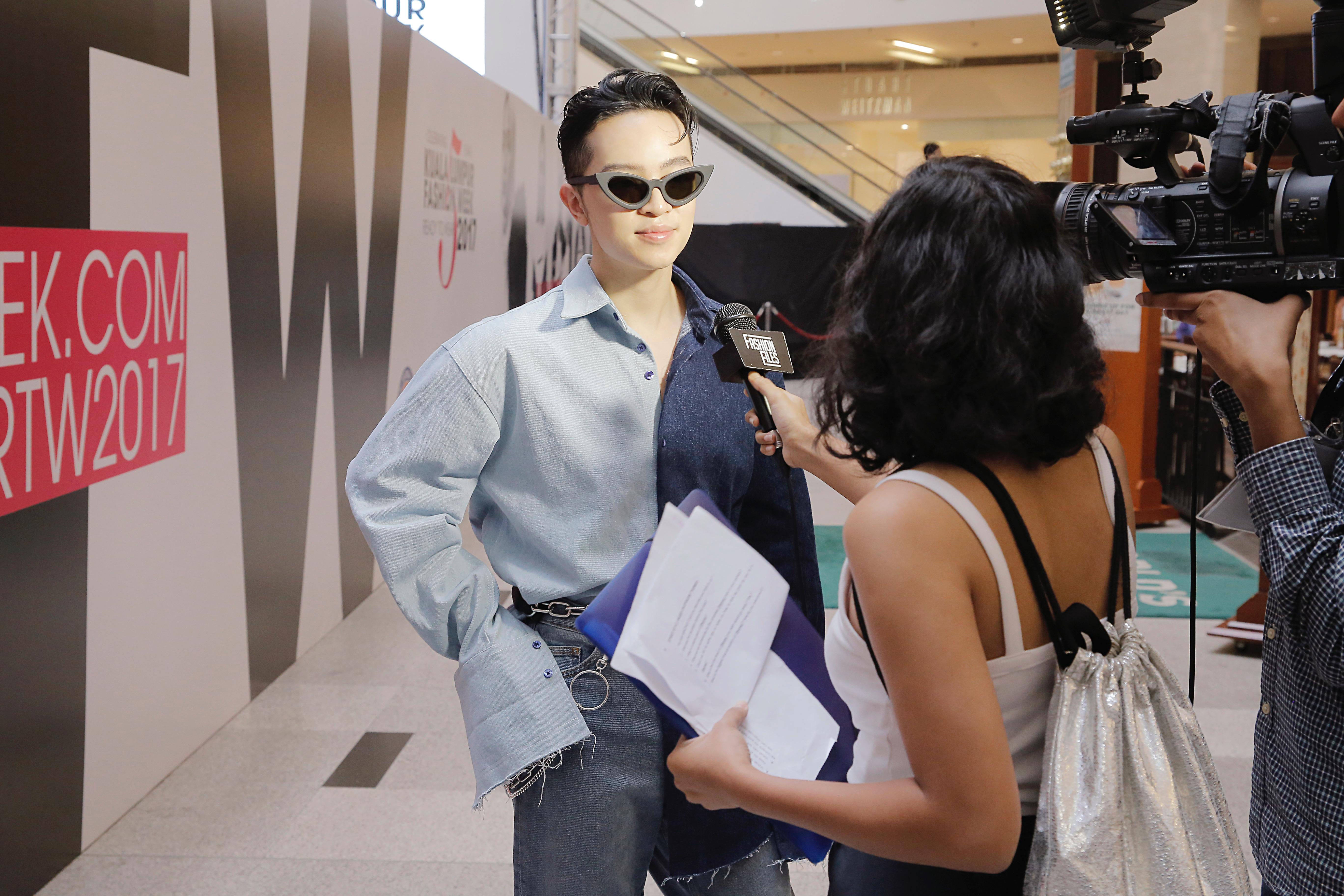 Lần đầu đến Malaysia dự fashion week, Kelbin Lei không ngờ giới trẻ ở đây biết rõ về mình - Ảnh 3.