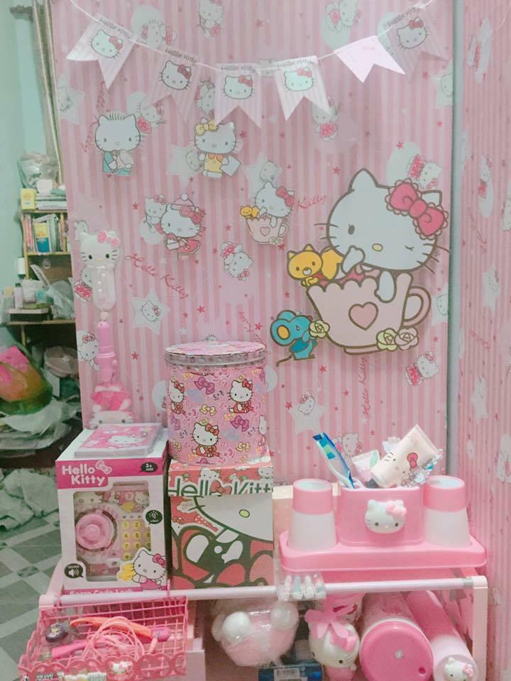 Chuyện tình chỉ có màu hồng theo nghĩa đen của cô nàng cuồng Hello Kitty - Ảnh 10.