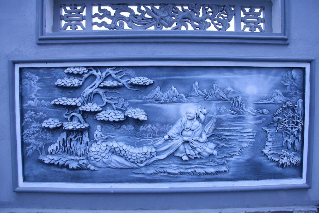 Chùm ảnh: Cận cảnh khu nhà thờ họ 100 tỷ với nhiều vật dụng dát vàng ở Nghệ An - Ảnh 9.