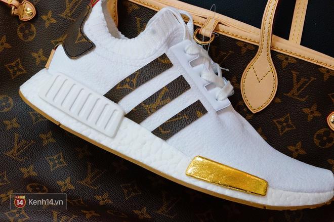 9x Việt độ giày từ đồ Louis Vuitton x Supreme hàng chục triệu đồng đang khiến giới chơi sneakers phát sốt - Ảnh 23.