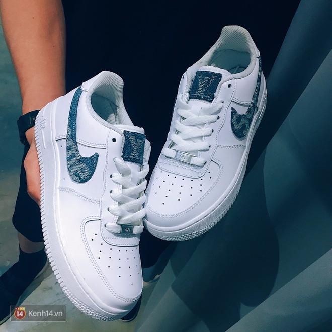 9x Việt độ giày từ đồ Louis Vuitton x Supreme hàng chục triệu đồng đang khiến giới chơi sneakers phát sốt - Ảnh 17.