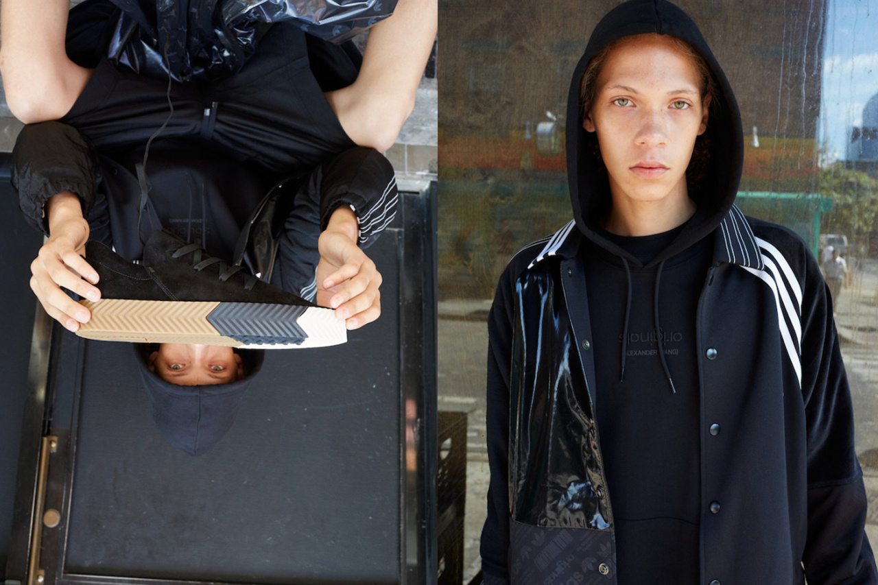adidas Originals x Alexander Wang lăng xê mốt nhặt lá đá ống bơ, tay cầm túi rác ra đường - Ảnh 11.
