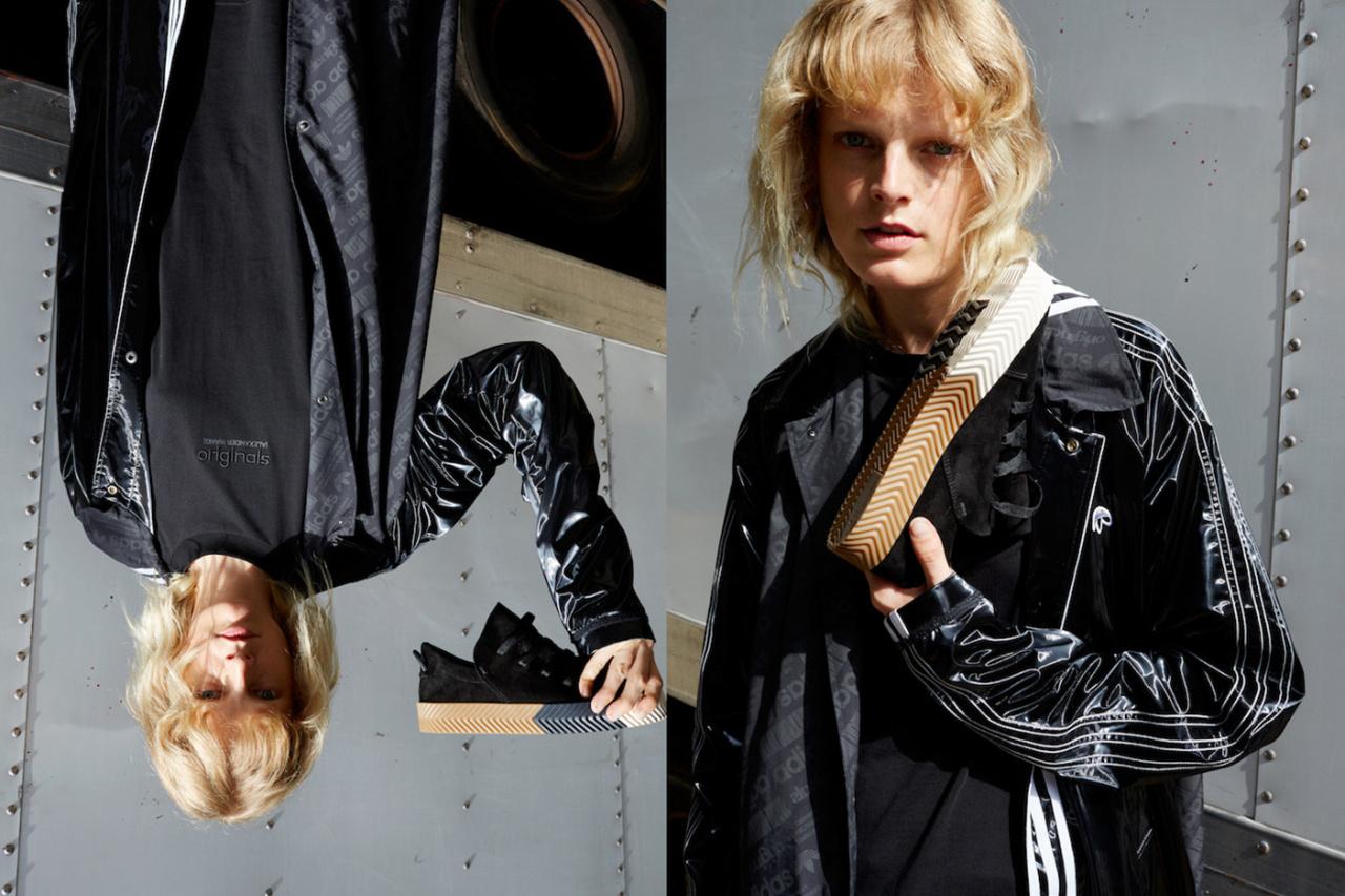 adidas Originals x Alexander Wang lăng xê mốt nhặt lá đá ống bơ, tay cầm túi rác ra đường - Ảnh 13.