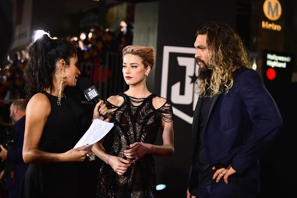 Dù lắm thị phi nhưng Amber Heard quả thật quá xinh đẹp, cân luôn cả Wonder Woman trên thảm đỏ - Ảnh 6.