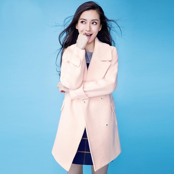 angelababy-new-winter-2015-slim-was-thin