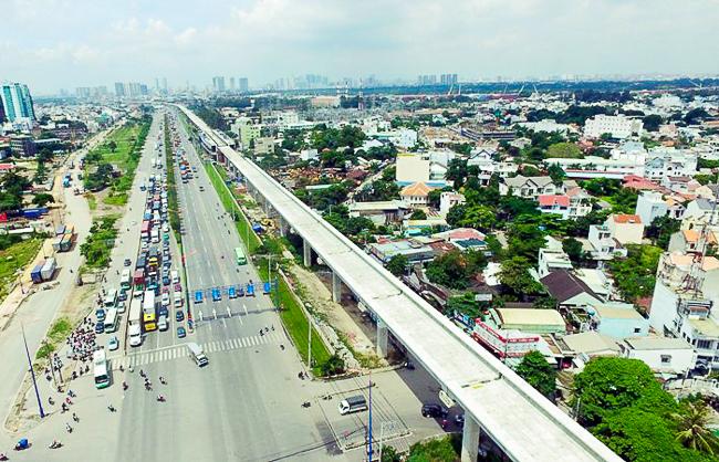 Clip toàn cảnh tuyến Metro Bến Thành - Suối Tiên đang thành hình rõ dáng sau 5 năm thi công - Ảnh 20.