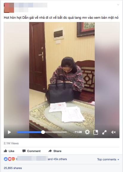 Vợ livestream khi bắt gặp nhân tình ở nhà, chồng cố thủ trong phòng ngủ nhất quyết không ra - Ảnh 1.
