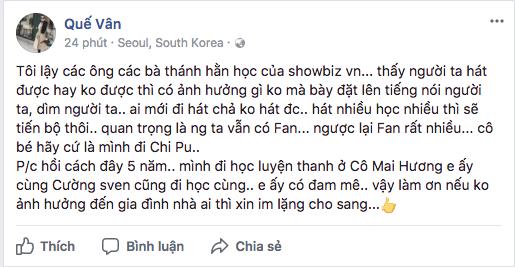 Ca sĩ phản đối chuyện đề nghị bỏ phiếu cấm Chi Pu đi hát: Không thích đứng chung sân khấu với họ thì đừng nhận lời diễn chung - Ảnh 5.