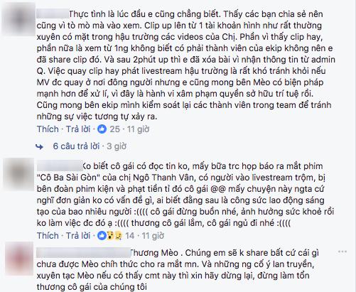 Vũ Cát Tường bức xúc vì hậu trường MV bị quay lén và chia sẻ rộng rãi trên mạng xã hội - Ảnh 2.