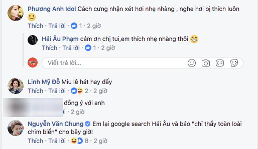 """Nhạc sĩ Hải Âu bênh quan điểm của Dương Cầm, Mỹ Linh lại bình luận khen """"Miu Lê hát hay đấy"""" - Ảnh 2."""