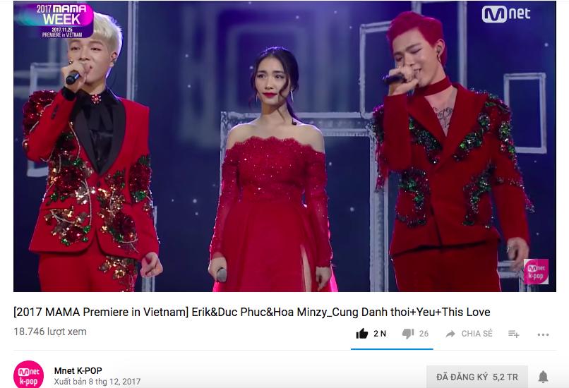 Mnet chính thức chiếu MAMA Việt Nam: Quốc tế sốc vì fanchant sởn da gà của fan Việt, bộ 3 Erik, Hòa Minzy, Đức Phúc xuất sắc - Ảnh 8.