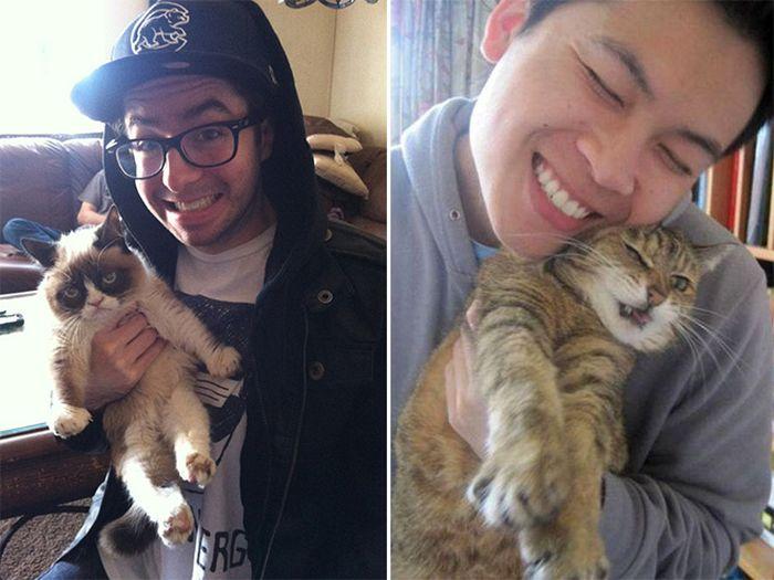 16 chú mèo ghét cay ghét đắng việc selfie cùng chủ nhân - Ảnh 17.