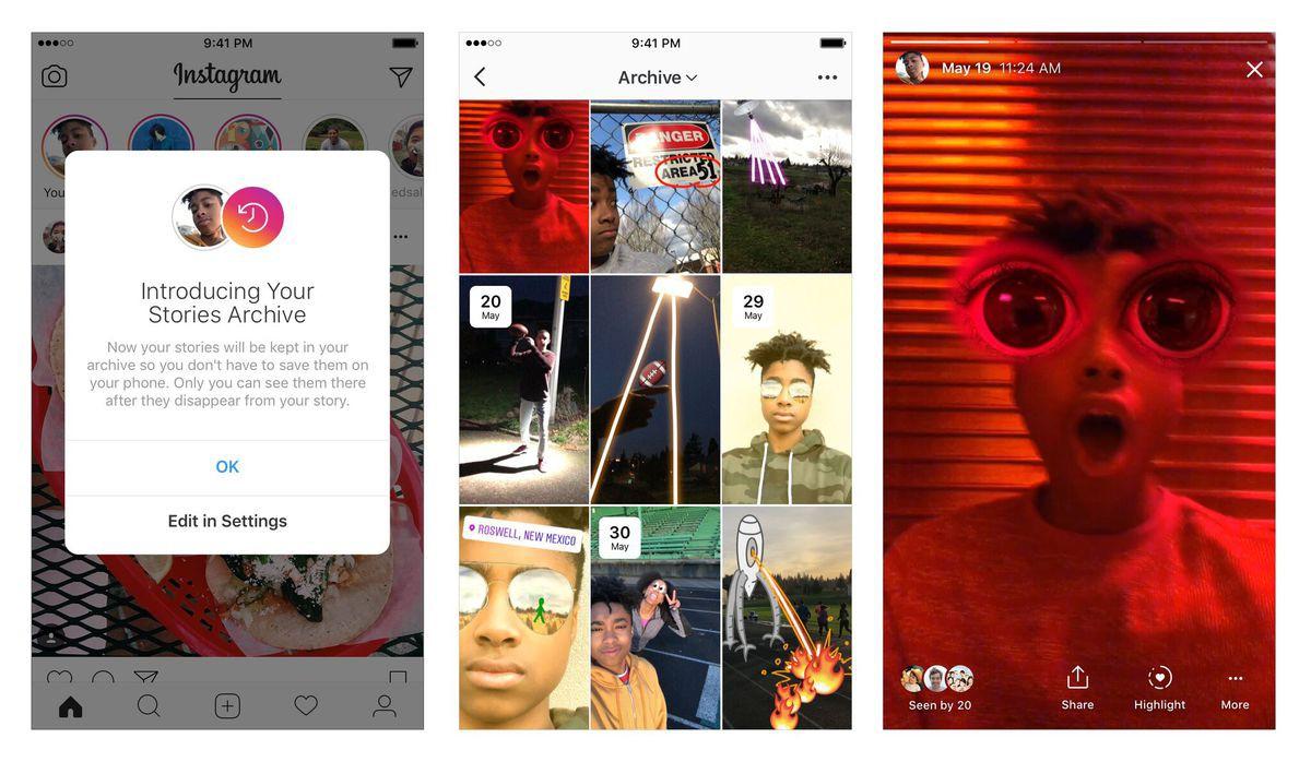 Instagram lại copy gần giống Snapchat, cho phép tự lưu Stories về để đăng lại - Ảnh 1.