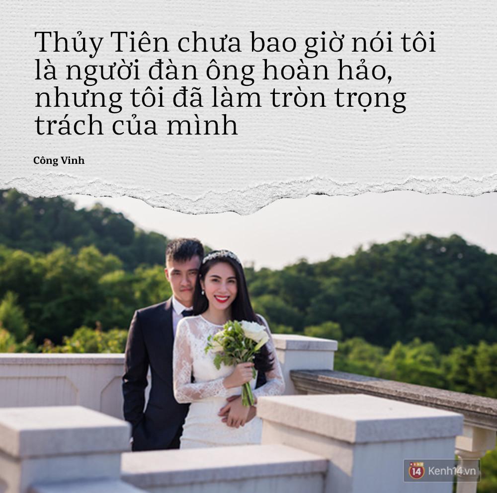 Công Vinh: Người khác nghĩ gì đừng quan tâm, trong mọi hoàn cảnh mình phải khen vợ đẹp! - Ảnh 4.