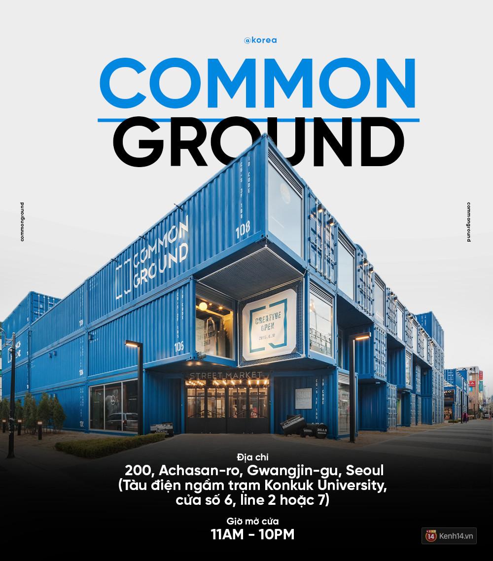 Common Ground - khu concept mall làm từ container siêu chất của giới trẻ Seoul - Ảnh 1.