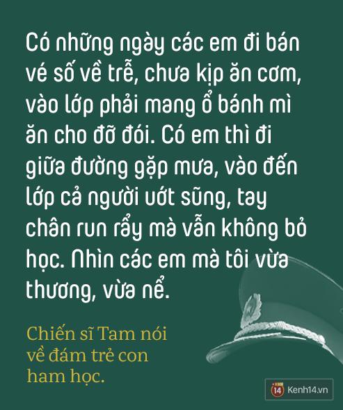 Những thầy giáo quân hàm xanh ở Vành đai biên giới Việt - Cam: Ngày tuần tra, đêm gieo chữ cho bọn trẻ không quốc tịch - Ảnh 6.