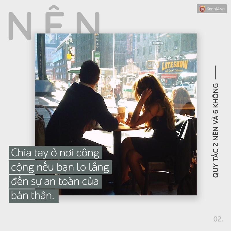 2 Nên và 6 Không: Những cách giúp bạn nói lời chia tay thật tử tế và không oán giận - Ảnh 3.
