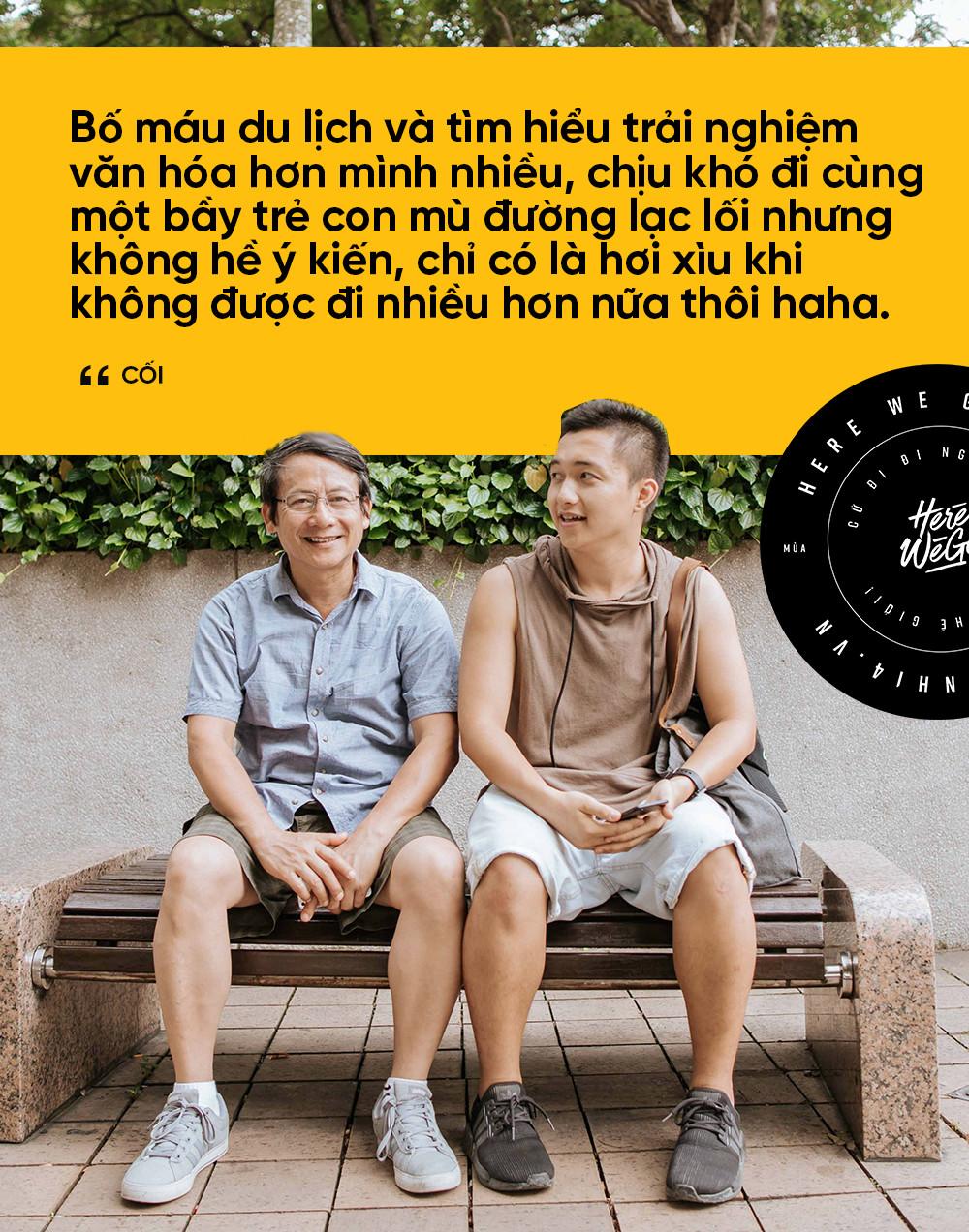 Bạn chọn ai khi muốn đi du lịch, cậu con trai Nghệ An 24 tuổi này rủ ông bố 60 tuổi, và họ có những trải nghiệm cùng nhau lần đầu tiên! - Ảnh 10.