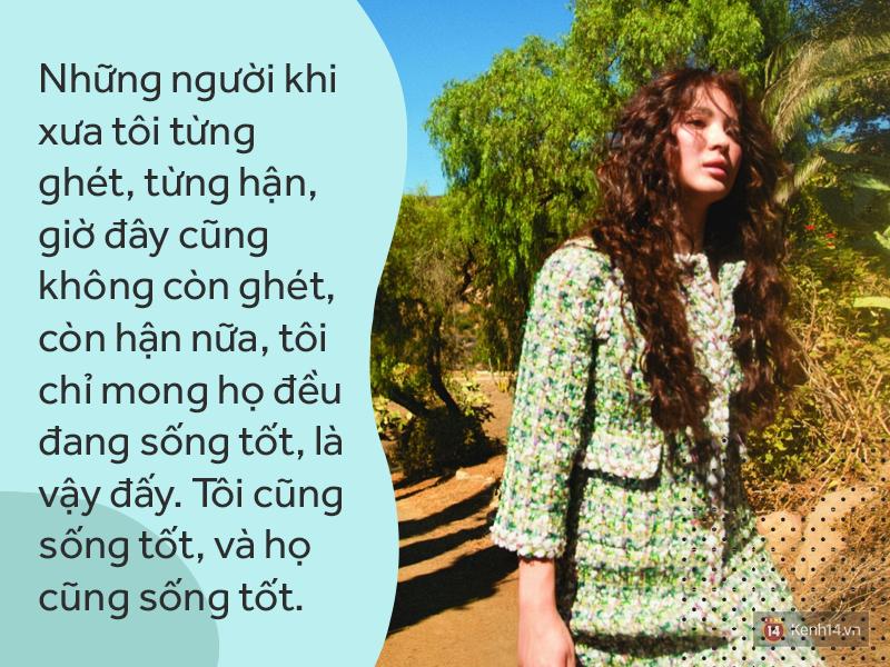 Sắp là vợ người ta, Song Hye Kyo thổ lộ: Hạnh phúc là được ngồi quây quần bên bàn ăn với người yêu thương - Ảnh 4.