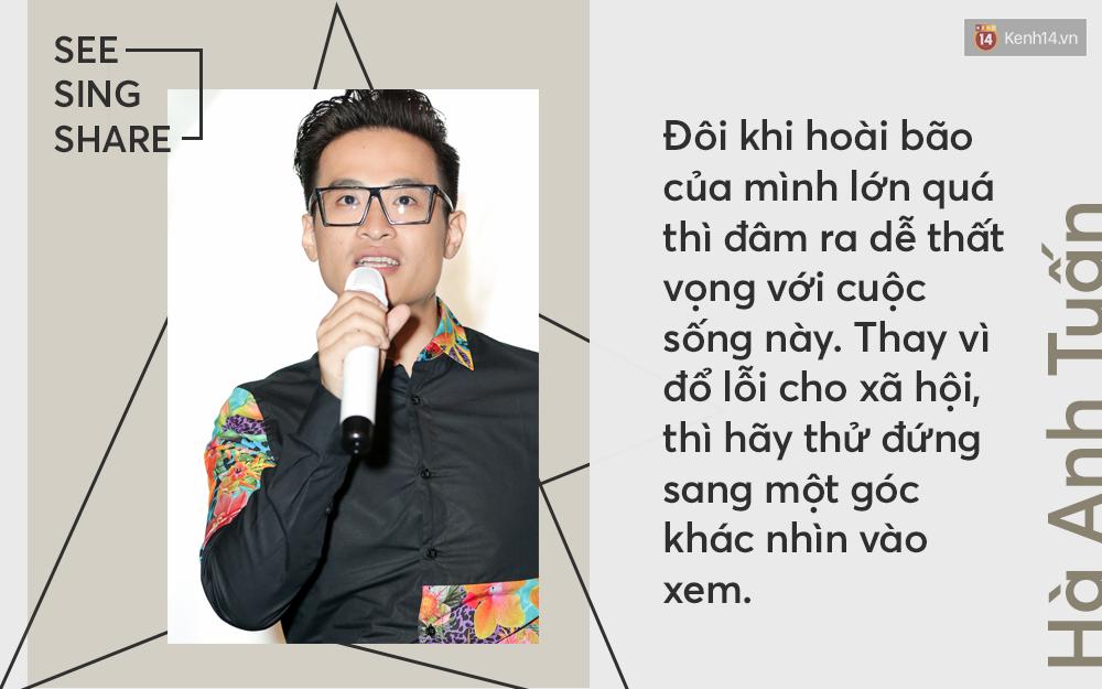 Hà Anh Tuấn: Nếu See Sing Share không được khán giả ủng hộ, thì chưa chắc tôi sẽ đi tiếp với âm nhạc - Ảnh 6.