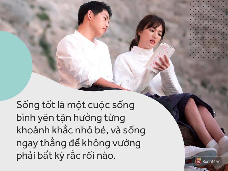 Sắp là vợ người ta, Song Hye Kyo thổ lộ: Hạnh phúc là được ngồi quây quần bên bàn ăn với người yêu thương - Ảnh 2.