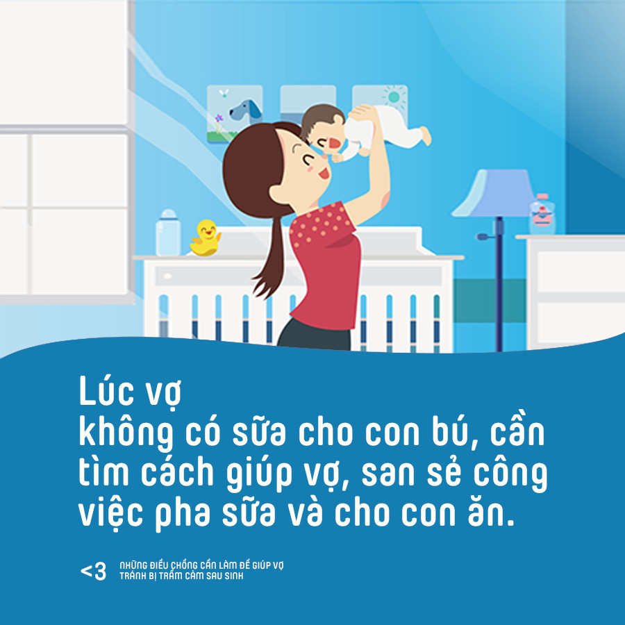 Những điều chồng cần làm để giúp vợ phòng tránh bị trầm cảm sau sinh - Ảnh 6.
