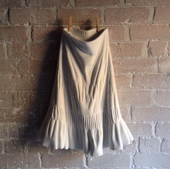 Ngắm bộ sưu tập váy duyên dáng được điêu khắc từ đá cẩm thạch - Ảnh 13.