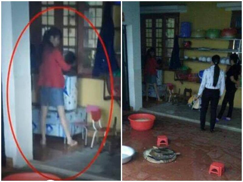 Bố hốt hoảng thấy hiệu trưởng và 2 cô giáo dọa cắm điện, bế ngược con trai 4 tuổi vào máy vặt lông gà - Ảnh 2.