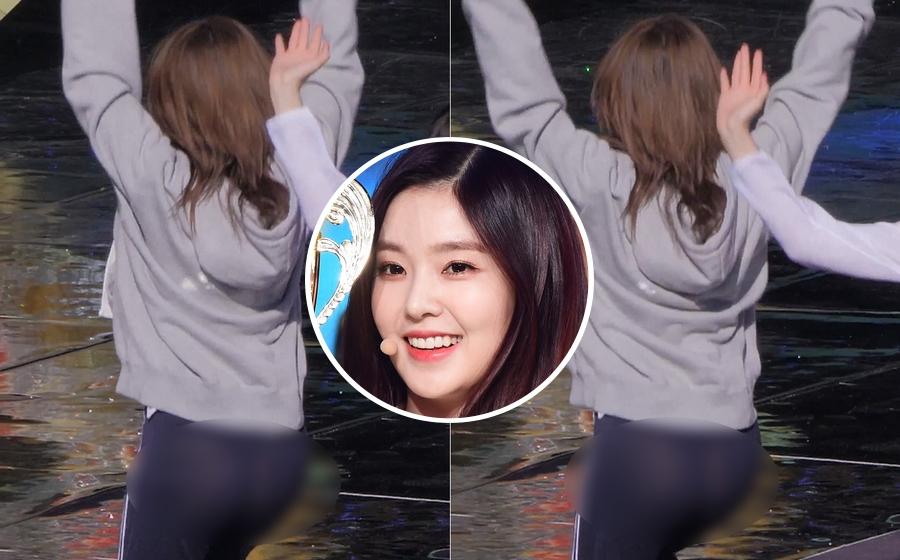 Mặc quần mỏng xuyên thấu, Irene (Red Velvet) lộ phần nhạy cảm trong lúc diễn tập - Ảnh 1.