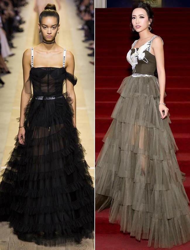 Diệu Nhi bất ngờ bị cư dân mạng tố mặc váy nhái Dior - Ảnh 5.