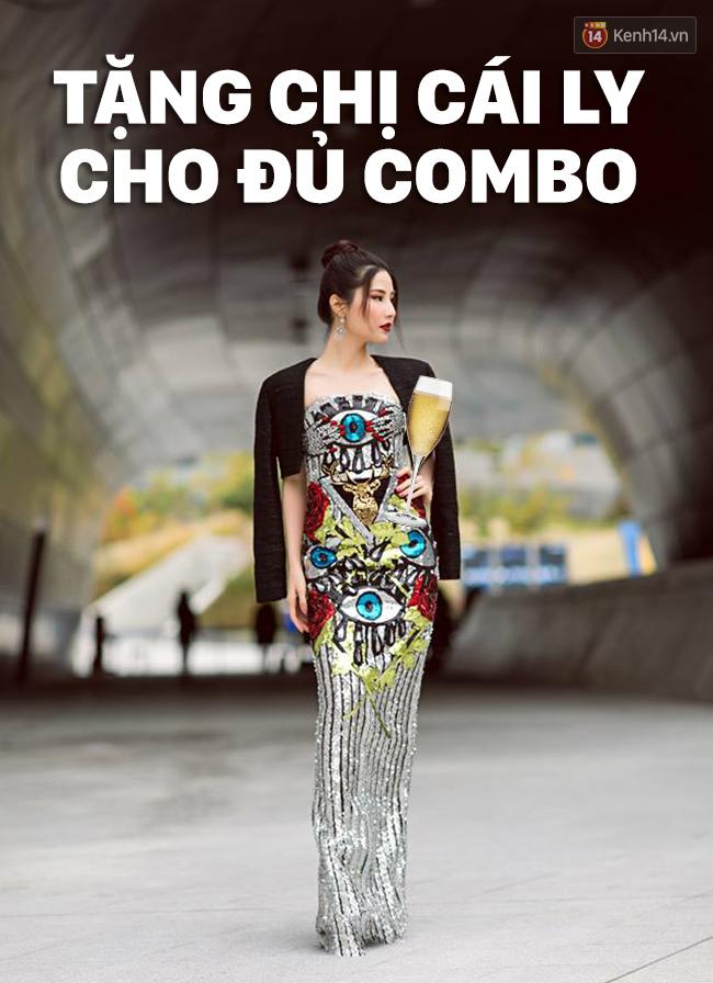 Cập nhật Seoul Fashion Week: Diễm My 9x diện đầm sequin lóng lánh đánh bay phong cách street style - Ảnh 1.