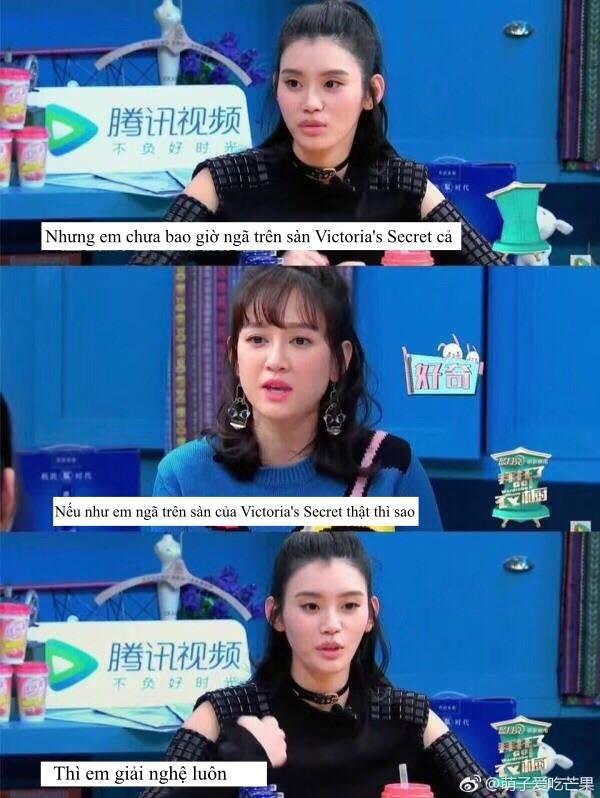 Cú ngã sấp mặt của Ming Xi đã được dự báo từ trước, không chỉ vậy cô còn tự tin tuyên bố: Nếu ngã tại VS tôi sẽ giải nghệ - Ảnh 3.