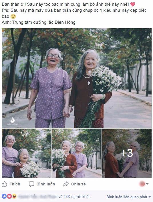 Bộ ảnh Tình bạn già bên cúc họa mi khiến nhiều người ước ao có một BFF như thế - Ảnh 7.