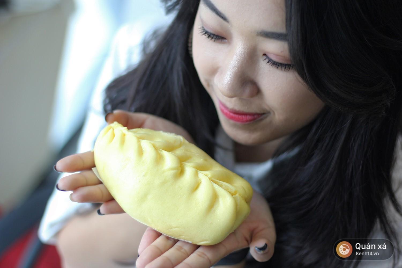 Check ngay list các loại bánh bao mới lạ ở Hà Nội: đủ kiểu nhân từ phô mai thịt đến sầu riêng - Ảnh 3.