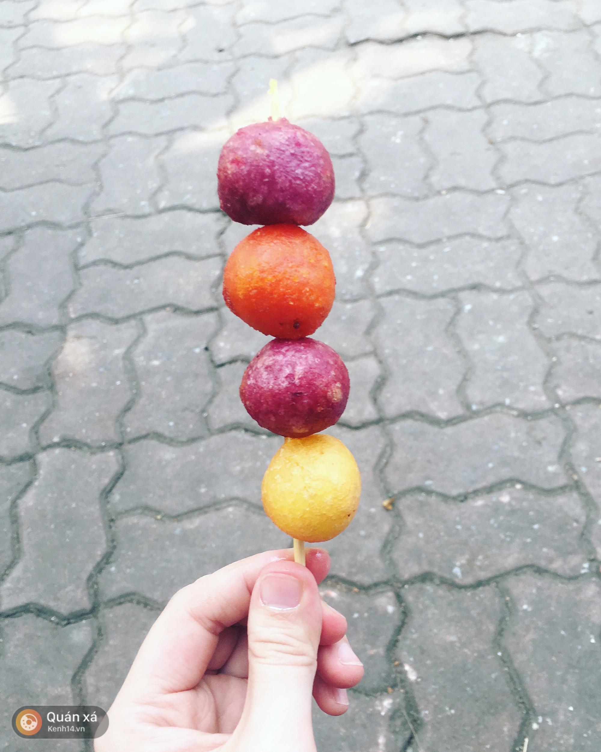 Bánh rán sống ảo chỉ 500 đồng: ăn ngon mà chụp lên ảnh thì đẹp vô đối - Ảnh 6.