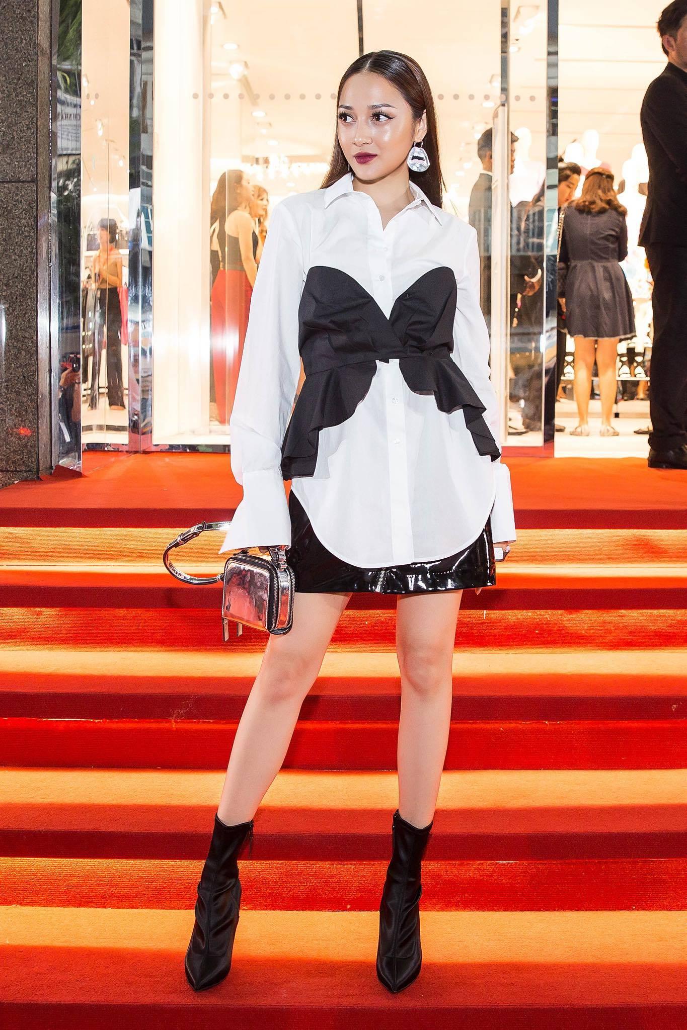 Angela Phương Trinh & Chi Pu quá đỗi sành điệu, công phá thảm đỏ sự kiện ra mắt H&M Việt Nam - Ảnh 14.