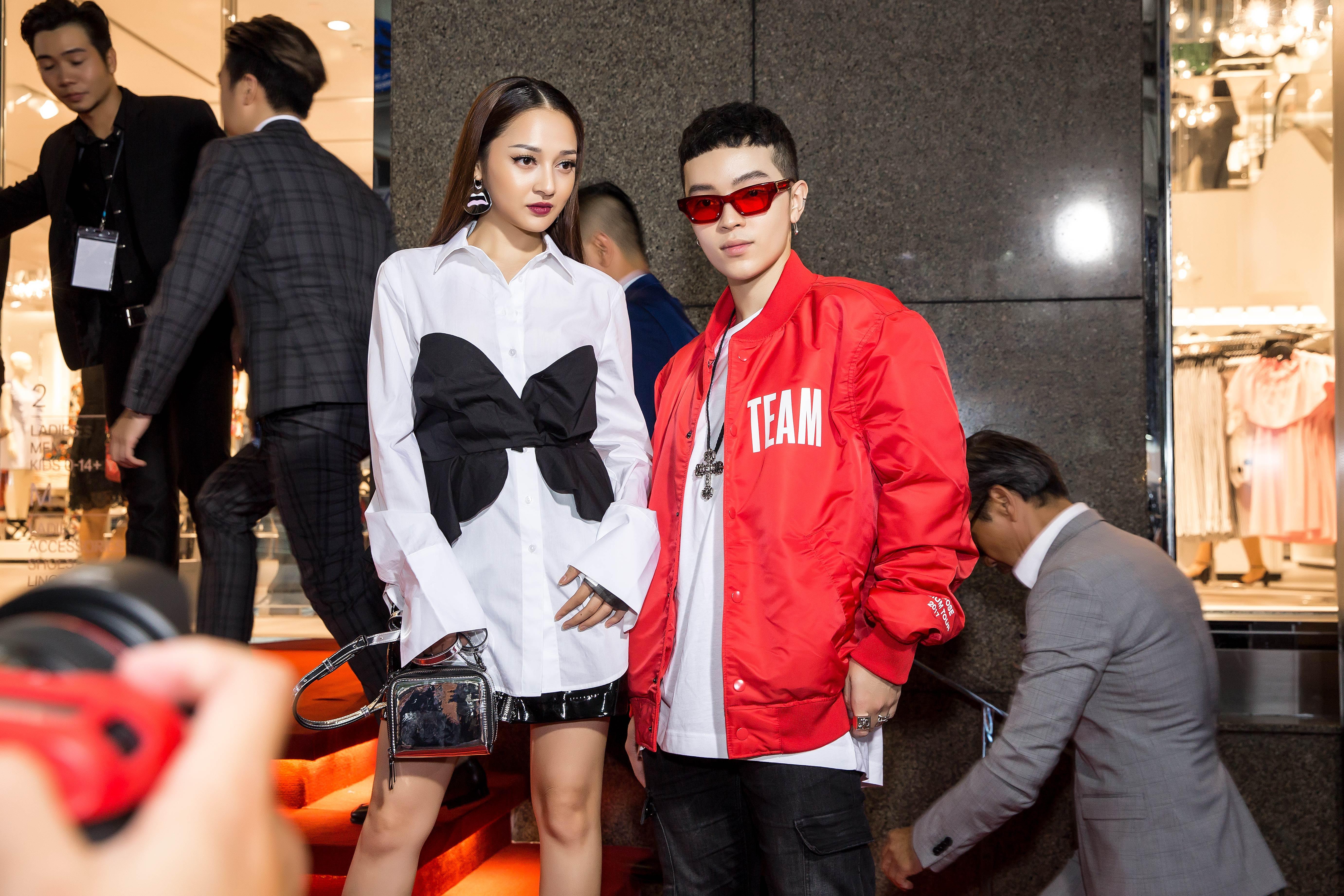 Angela Phương Trinh & Chi Pu quá đỗi sành điệu, công phá thảm đỏ sự kiện ra mắt H&M Việt Nam - Ảnh 15.