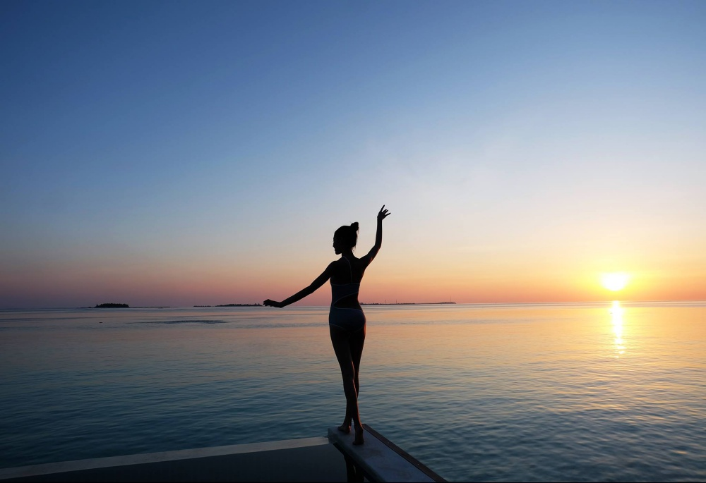 Quang Hùng – Quỳnh Châu khoe ảnh khóa môi hạnh phúc tại thiên đường Maldives - Ảnh 16.